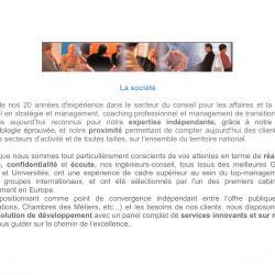 1ere agence orientée Développement Durable (DD et RSE), et spécialiste en Ingénierie Culturelle