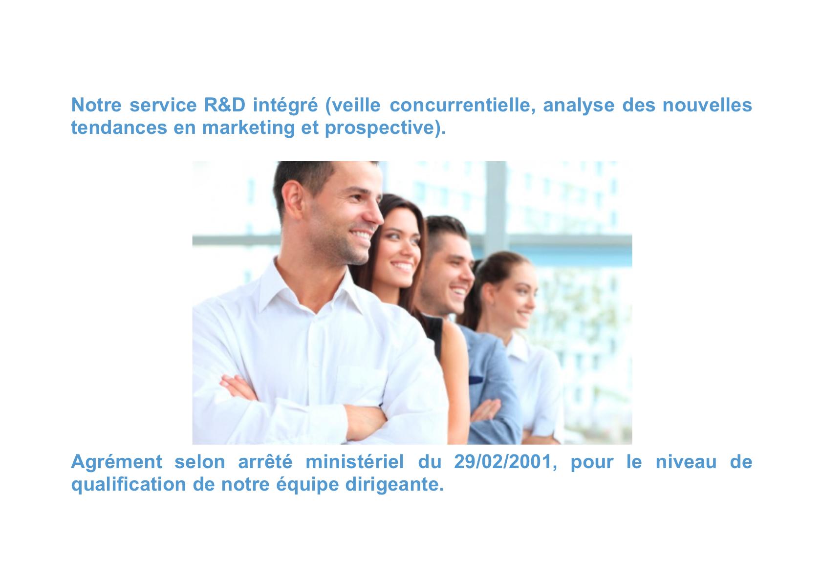 Service R&D et Agrément Ministériel